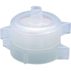 In-line Filter holder, PP Material, for Ø25mm Filters, Silicone O-ring, Inlet and Outlet: Female/Male Luer Lock