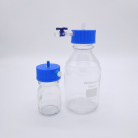 Glass Lab Bottle Cap GL45 Screw Size for 100 mL and 500 mL Bottle, Fluidic Reservoir