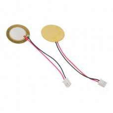 Piezoelectric Disc, Diameter 27 mm, Thin Thickness 0.22 mm