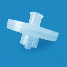 Polypropylene Syringe Filters, Pore 0.22-10 µm, D25 mm, Double Luer Lock, Nonsterile