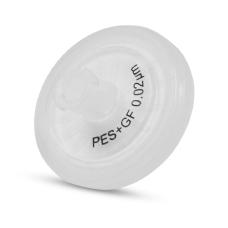 Syringe Filters with Polypropylene (PP), 1 μ m Pore size, 25mm, Luer-Lok/Luer Slip, Nonsterile, 100 units per pack