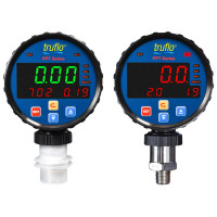 ICON Tri Display Pressure Meter PPT, Body Material: PP|PVDF|SS316 OptionsPP|PVDF|SS316