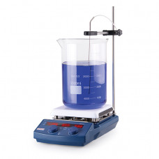 4E's Scientific 5-Inch LED Digital Magnetic Stirrer with Timer