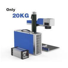 Portable Fiber Laser Engraver Machine, Fiber Laser 20/30 W and 1064 nm Wavelength