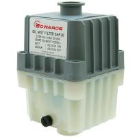 Edwards EMF10 Oil Mist Filter, KF25 Ports, for RV3, RV5, RV8 Vacuum Pumps