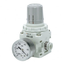 SMC IRV10-N07BG vacuum regulator, 1/4'' Push to Connect Port