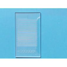 Glass Microfluidic Chip, Microreactor, Large Version