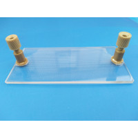 Glass Microfluidic Chip Particle or Cell Screening