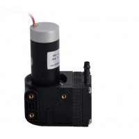 Miniature Diaphragm Pump Compressor, Max. Flow Rate 12 L/min & 22InHg,  Brushless DC Motor