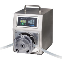 Peristaltic Pump, Industrial, Flow Rate 4.2 mL/min - 6000 mL/min, 4 Channels -WT600-3J