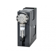 Industrial Syringe Pump ASP-SY01 Integrated with Electrical Rotary Valve, Max Stroke 30 mm