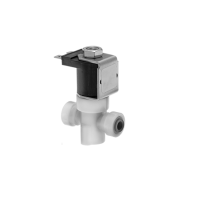 Solenoid Valve with 1/4'' Female Push-to-Connect Fittings, 24VDC, 80 PSIG Max Pressure