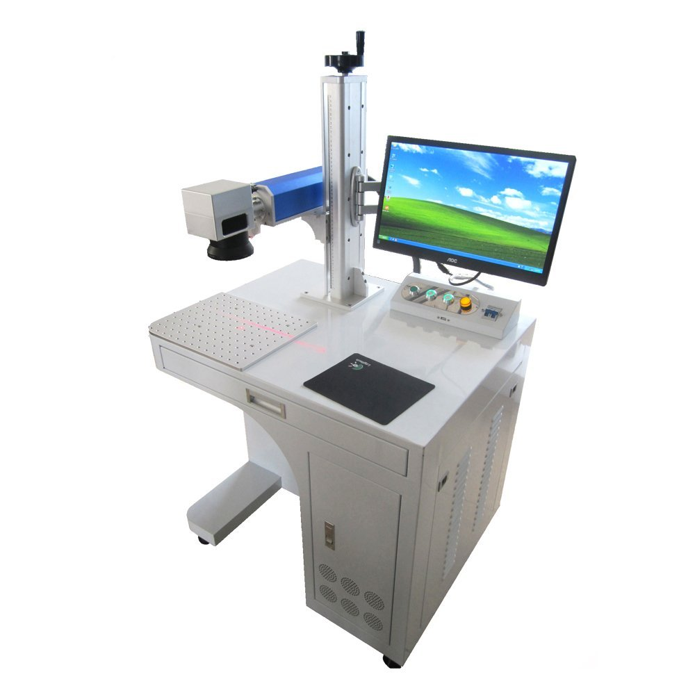 Laser Engraving Machine For Permanent Metal Engraving Or
