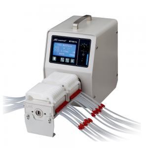 Peristaltic Pump, Flow Rate 2 µL/min - 500 mL/min,  Multi-channels Peristaltic Pump ( Up to 24 Channels) -BT100-1L