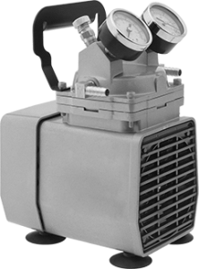 Vacuum Pump (Oil-Free), Portable and Electric Driven, Maximum Vacuum 25.5 inHg